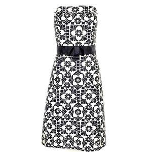RARE LILLY PULITZER Sienna  Strapless Dress 10